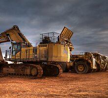 Alliance Machines- Integra Minesite- Emu Flats WA by Chris Paddick