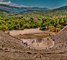 Greece. Epidaurus theater. by vadim19