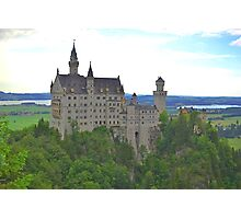 Neuschwanstein Castle Photographic Print