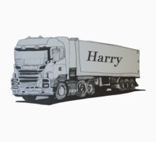 A Truck for Harry One Piece - Short Sleeve