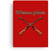 Western music Canvas Print