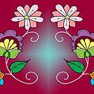 floral design #5 by mylittlenative