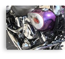 Harley rally Canvas Print