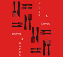 Knives and Forks by Silvia Ganora