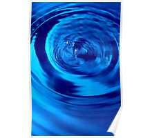 Swirl of Water Poster