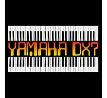 Vintage Yamaha DX-7 Synth Photographic Print