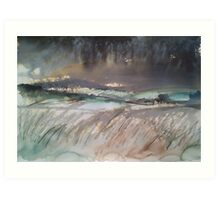 'Above Stanbury' Art Print