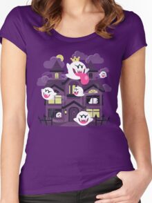 Ghost House Women's Fitted Scoop T-Shirt