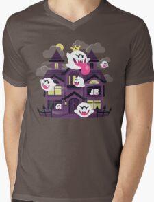 Ghost House Mens V-Neck T-Shirt