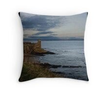 St. Andrews on the North Sea Throw Pillow