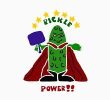 Funny Pickle Super Hero Pickleball Player Unisex T-Shirt