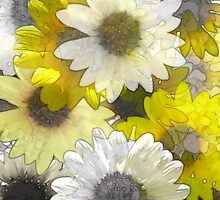 Just Sunflowers by Diane Johnson-Mosley