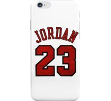 Jordan 23 Worn iPhone Case/Skin