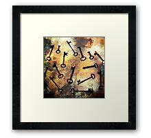 The Keys Framed Print
