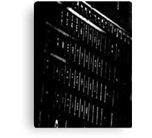 Keyboard Canvas Print