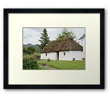 Croft in Plockton Framed Print