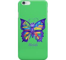 A Yoga Butterfly for Heidi iPhone Case/Skin