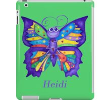 A Yoga Butterfly for Heidi iPad Case/Skin
