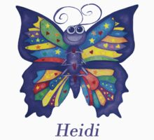 A Yoga Butterfly for Heidi Kids Tee
