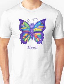 A Yoga Butterfly for Heidi Unisex T-Shirt