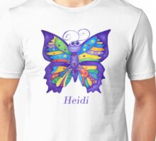 A Yoga Butterfly for Heidi Unisex T-Shirt