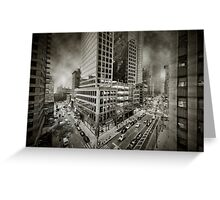 City feel Greeting Card