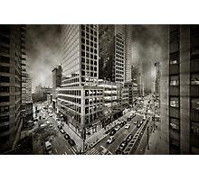 City feel Photographic Print