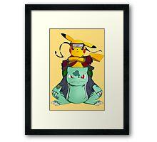 Pikuto! Framed Print