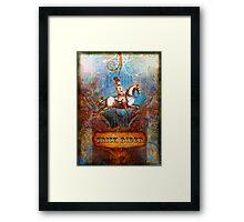 Trick Rider Framed Print