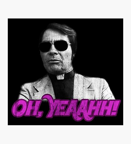 Rev. Jim Jones - Oh, Yeaahh! Photographic Print