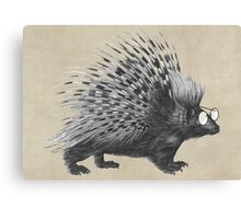 Nerdy Spike Canvas Print
