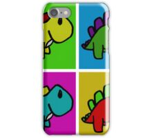 Cute Dinosaur Pop Art iPhone Case/Skin