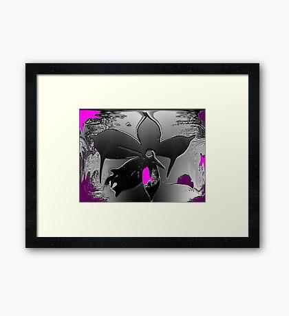 Fantasy Flower © Framed Print