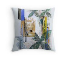 Italy-Memory Drawing 1 Throw Pillow