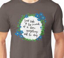 Ten Seconds | Blue Unisex T-Shirt