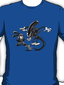 Alien vs Oswald T-Shirt