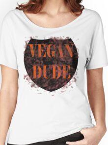 Vegan Dude Women's Relaxed Fit T-Shirt