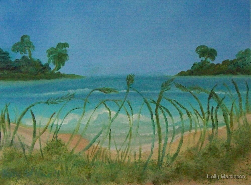 Carribean Blues by Holly Martinson