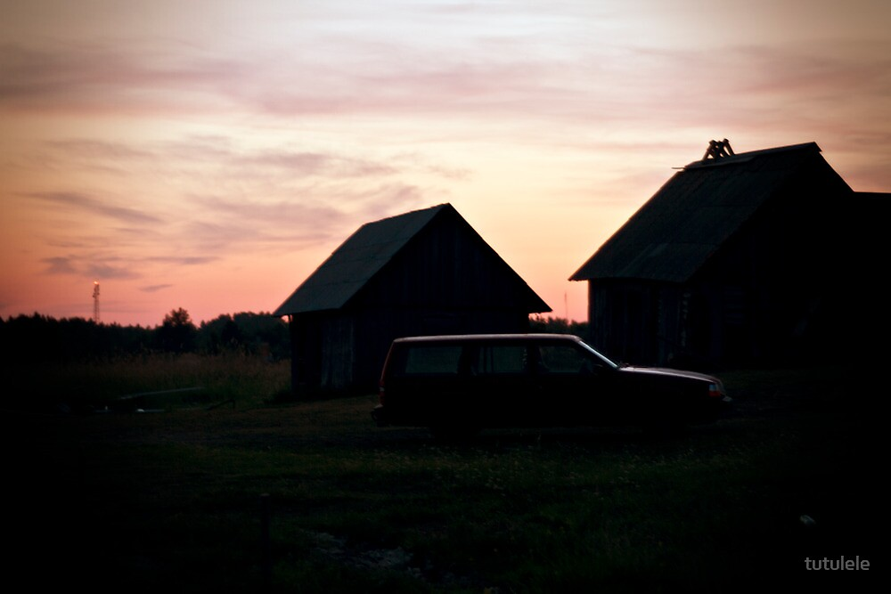 Sunset. Light. by tutulele