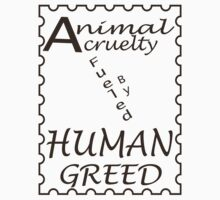 Animal Cruelty by veganese