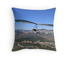 Hang Glider, British National Championships Throw Pillow