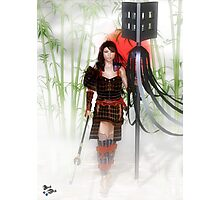 Lady Samurai Photographic Print