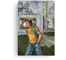 Walking in Royalty Canvas Print