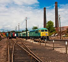 Barrowhill Round house Station by Elaine123