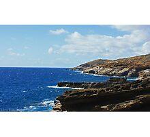 oahu coastline Photographic Print