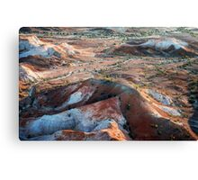 Dawn Flight: Painted Hills Canvas Print