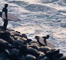 Crazy surfers #2 by Odille Esmonde-Morgan