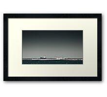 Wollongong Horizon Framed Print