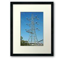 """Tension Tower"" Framed Print"