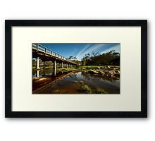 """Over The Avon"" Framed Print"